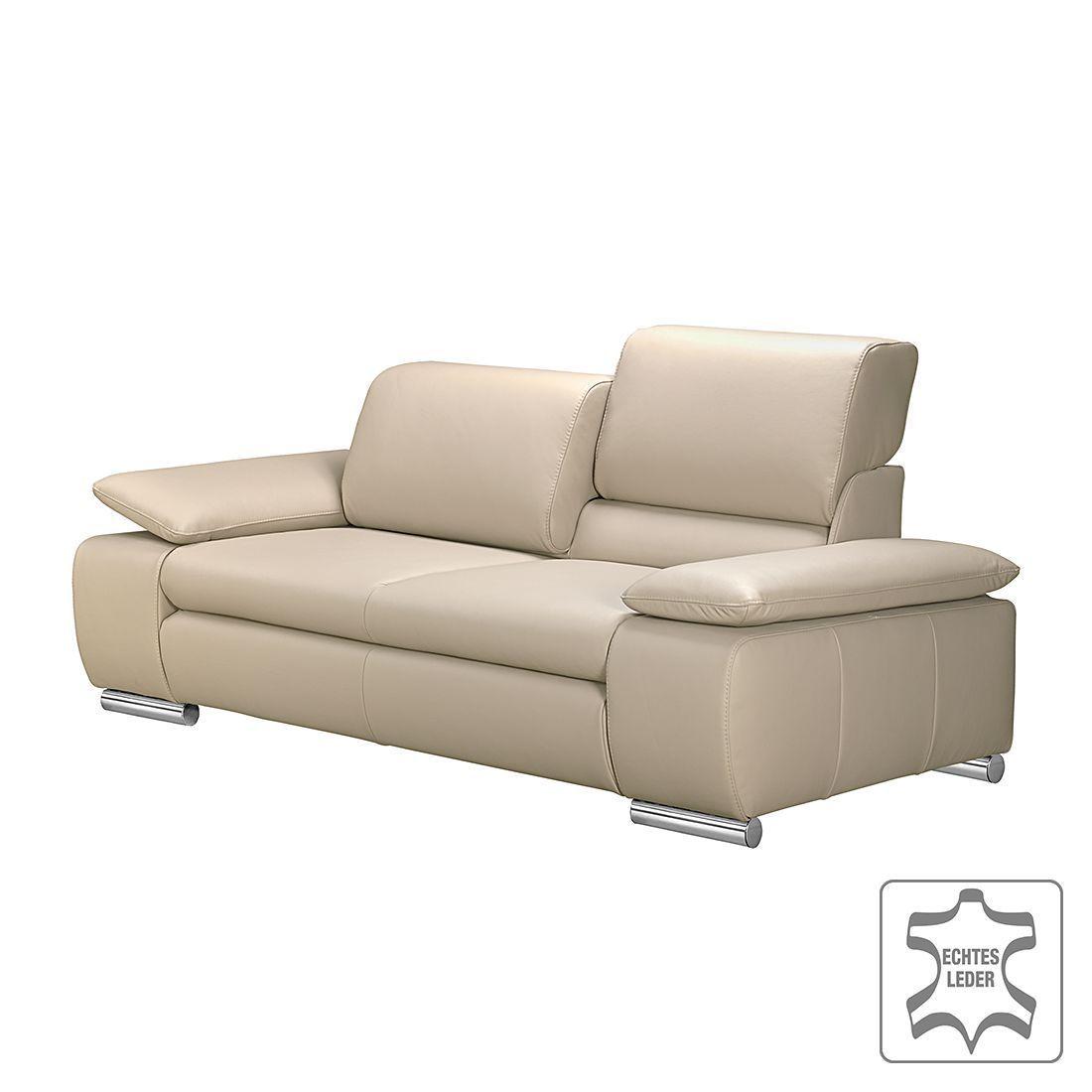 Fredriks Sofa Masca 3 Sitzer Beige Echtleder 232x78x96 Cm In 2020 Kissen Sofa Sofa 3 Sitzer Sofa