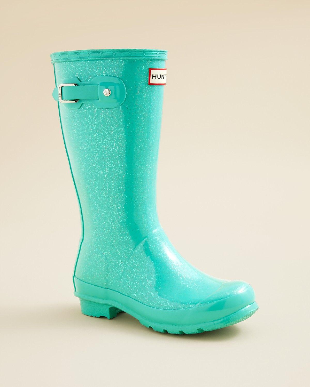 30bb535c2a40 Hunter Girls' Original Kids Glitter Finish Rain Boots - Little Kid, Big Kid    Bloomingdale's