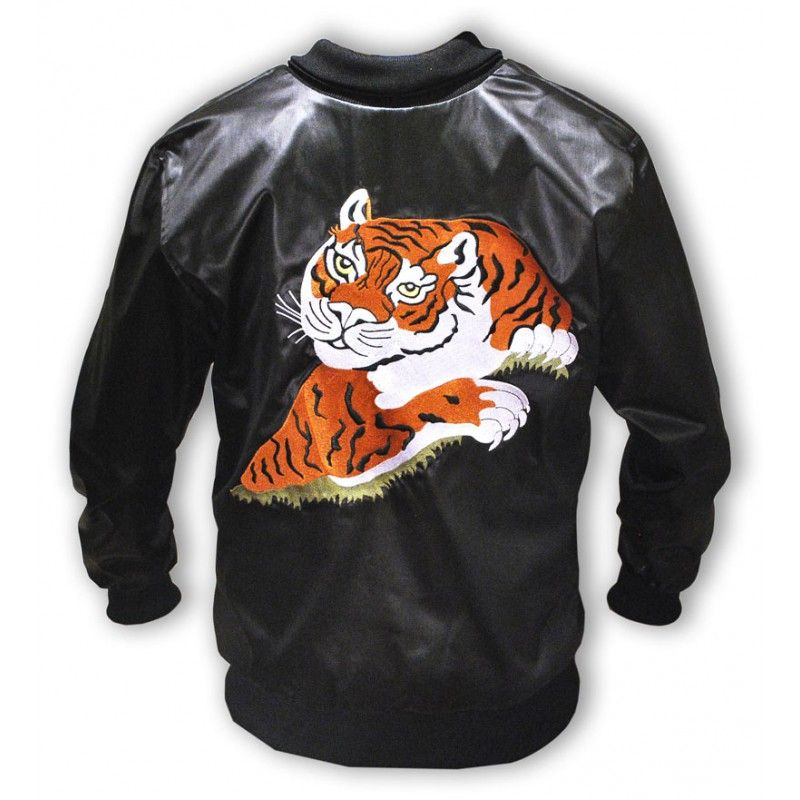 1385107b Eye Of The Tiger Rocky Balboa Leather Jacket Chalecos, Chaquetas, Ropa,  Rocky Balboa
