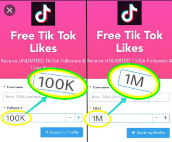 Free Tik Tok Likes Trick Only For First 500 Website Visitor Free Followers Heart App Free Followers On Instagram