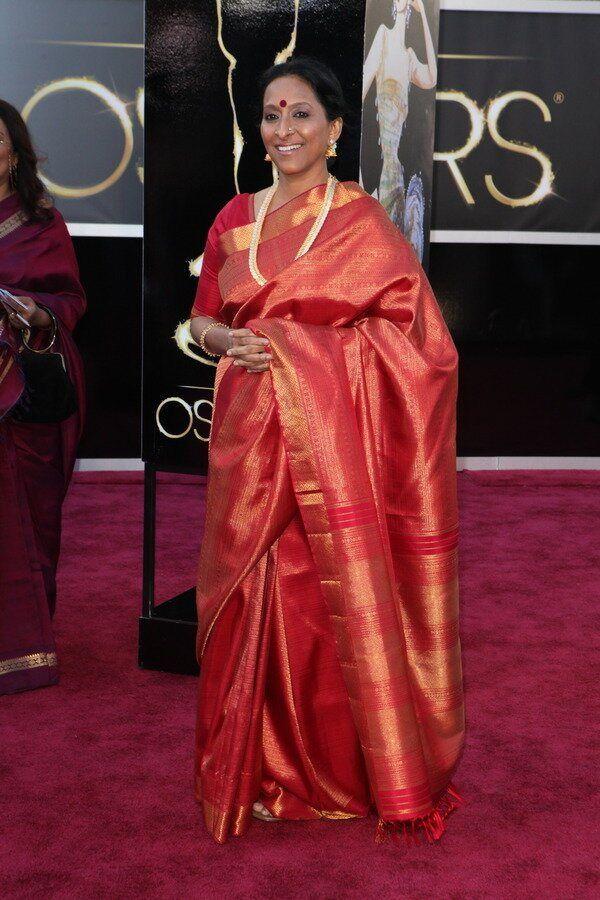 The Kanjivaram At The Oscars Red Carpet Oscars Fashion Oscar Fashion