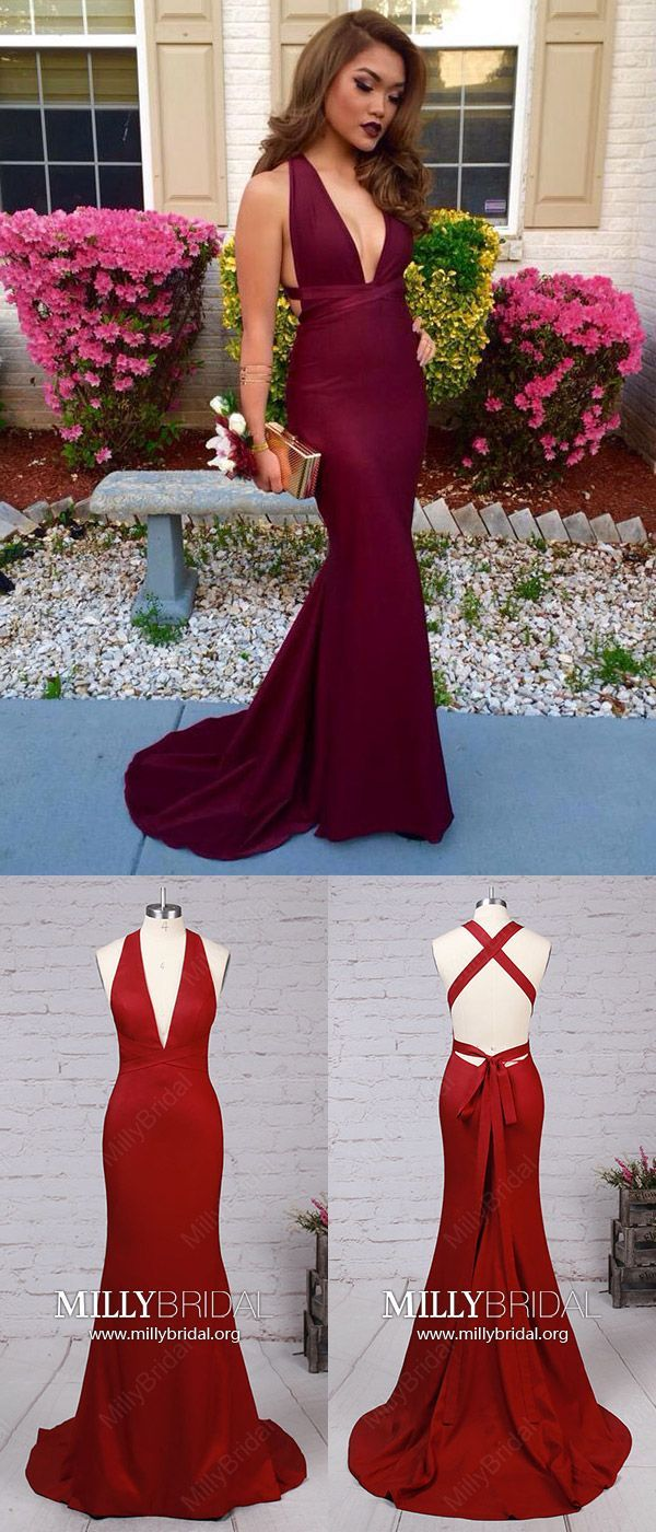 Long prom dressesburgundy prom dressessexy prom dresses open back