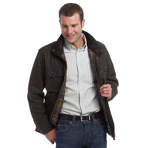 131d2bff66d74 Barbour Trooper Wax Jacket, Olive   Stuff to Buy   Wax jackets ...