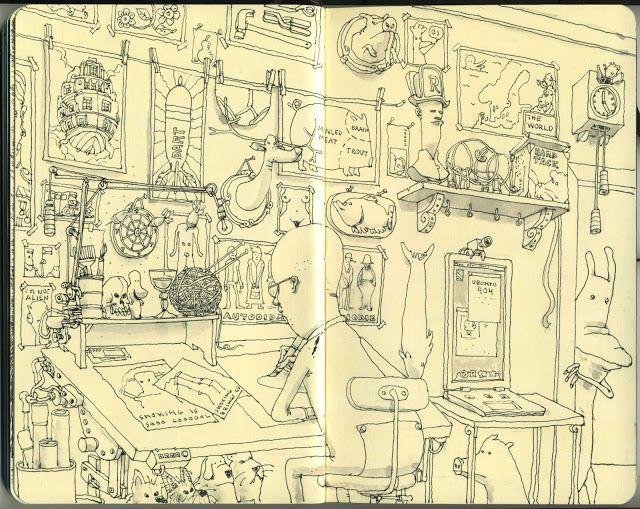 Mattias Adolfsson - Illustrator