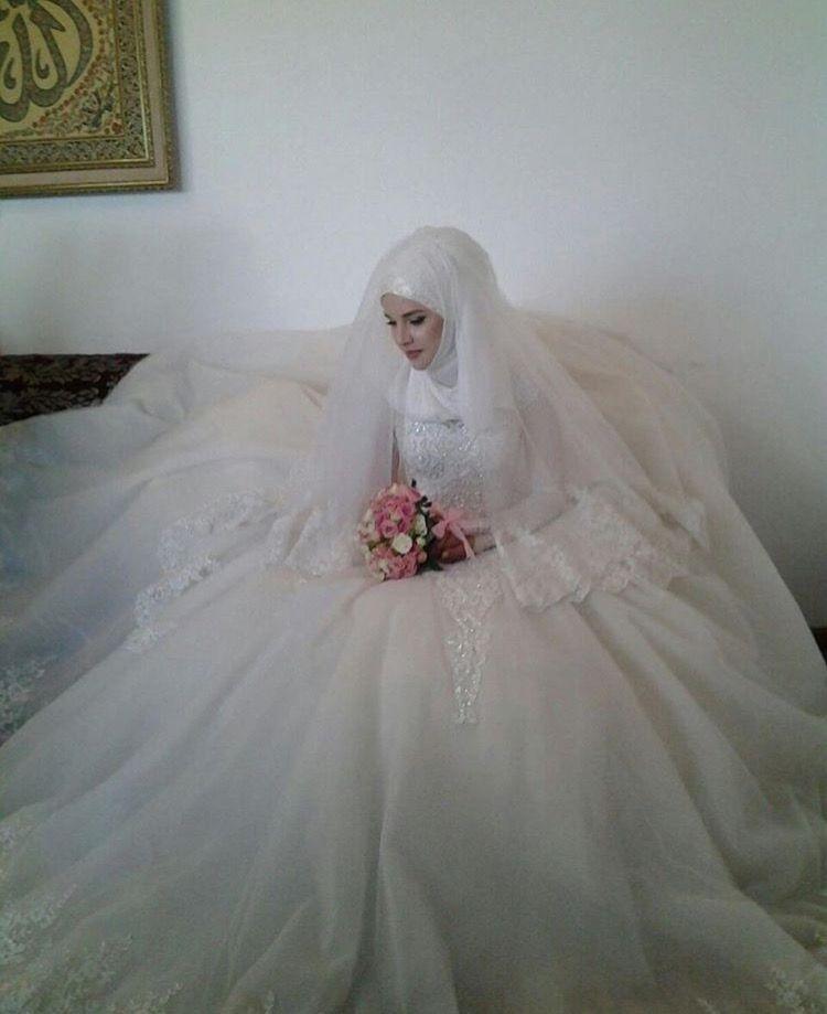 4a209482798bd Beauty muslim bride # peçe nikab nikap nikabis kapalı çarşaf hicab hijab  tesettür gelin düğün wedding