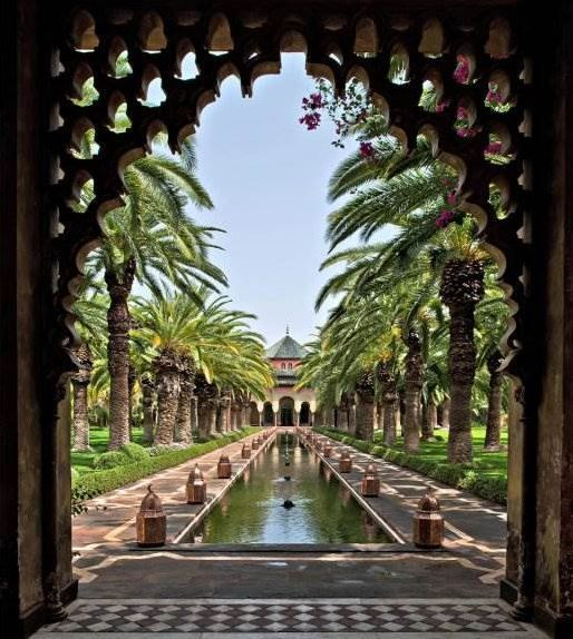 An exclusive palm oasis outside Marrakesh.