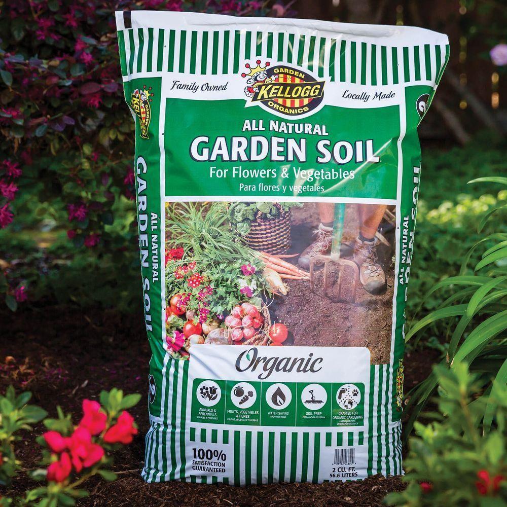 Kellogg Garden Organics 2 Cu Ft All Natural Garden Soil For