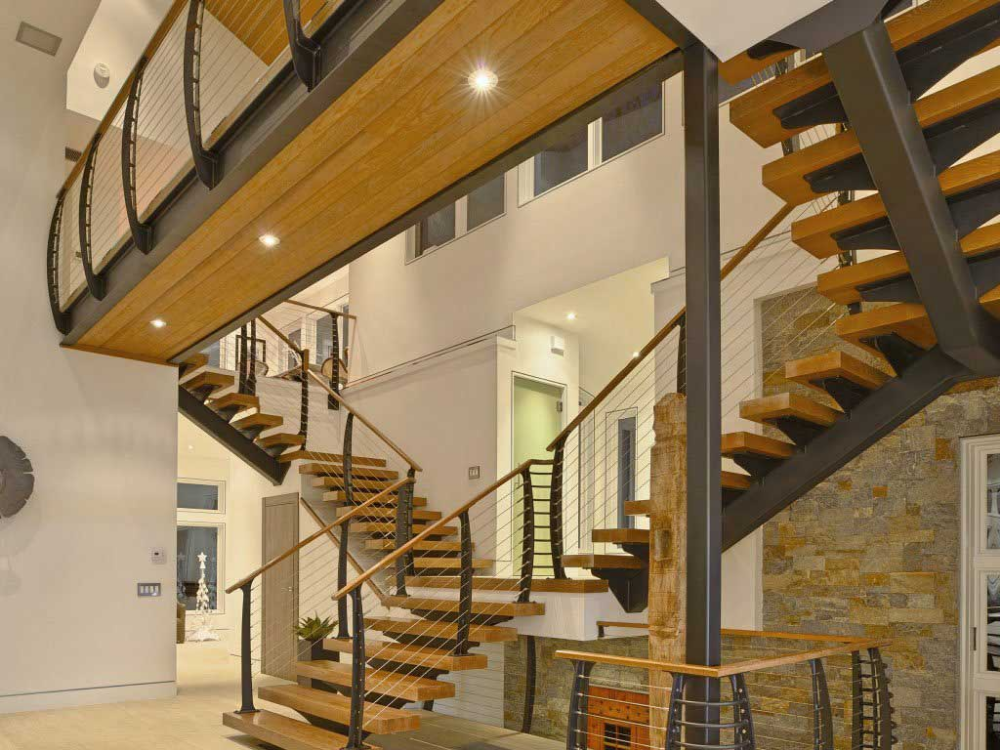 How Much Do Custom Floating Stairs Cost Keuka Studios Floating Stairs Staircase Design Stairs
