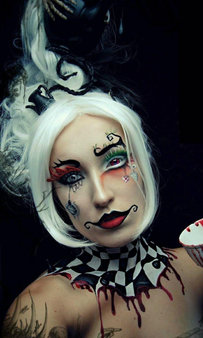 Alice In Wonderland makeup ideas for Halloween | Halloween Make-up ...