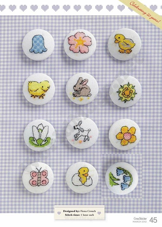Buttons Gallery.ru / Фото #45 - Cross Stitcher 250 2012.03 - Los-ku-tik