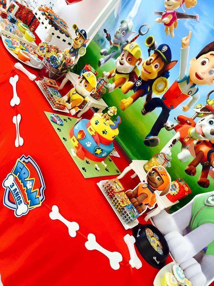 Paw patrol birthday party ideas cumplea os ideas para - Ideas fiesta cumpleanos ...