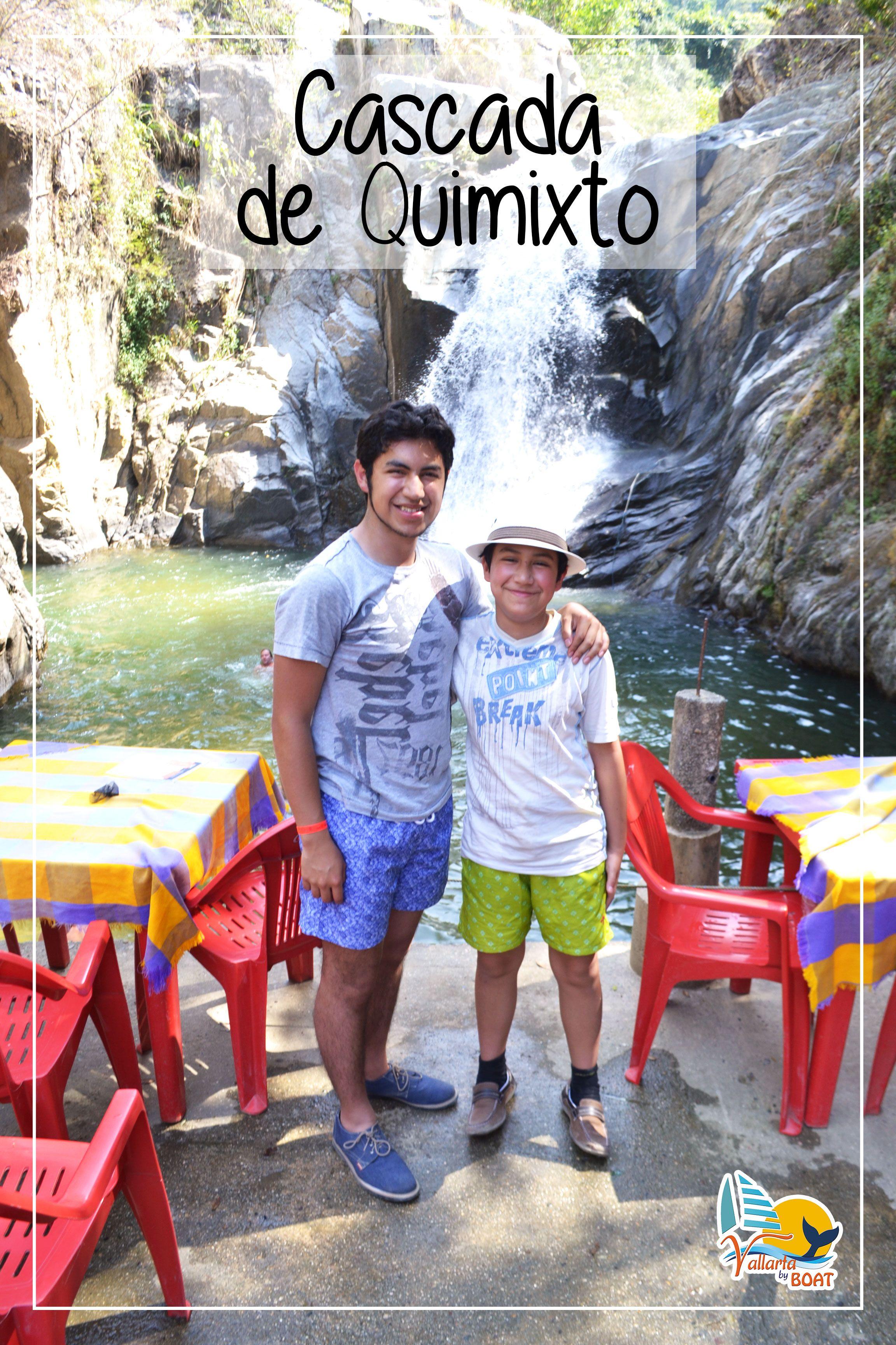 Cascada de Quimixto - #waterfall #VallartaByBoat #PuertoVallarta
