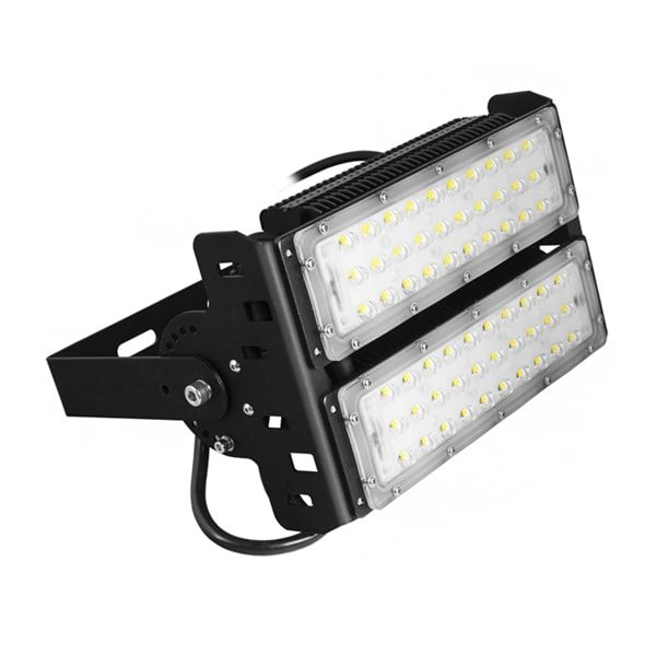Power 100w Input Voltage Ac85 277v 5 Years Warranty High Lumens Output 2x50w Led Models Philips3030 Chip With Meanwel Led Flood Lights Led Flood Flood Lights