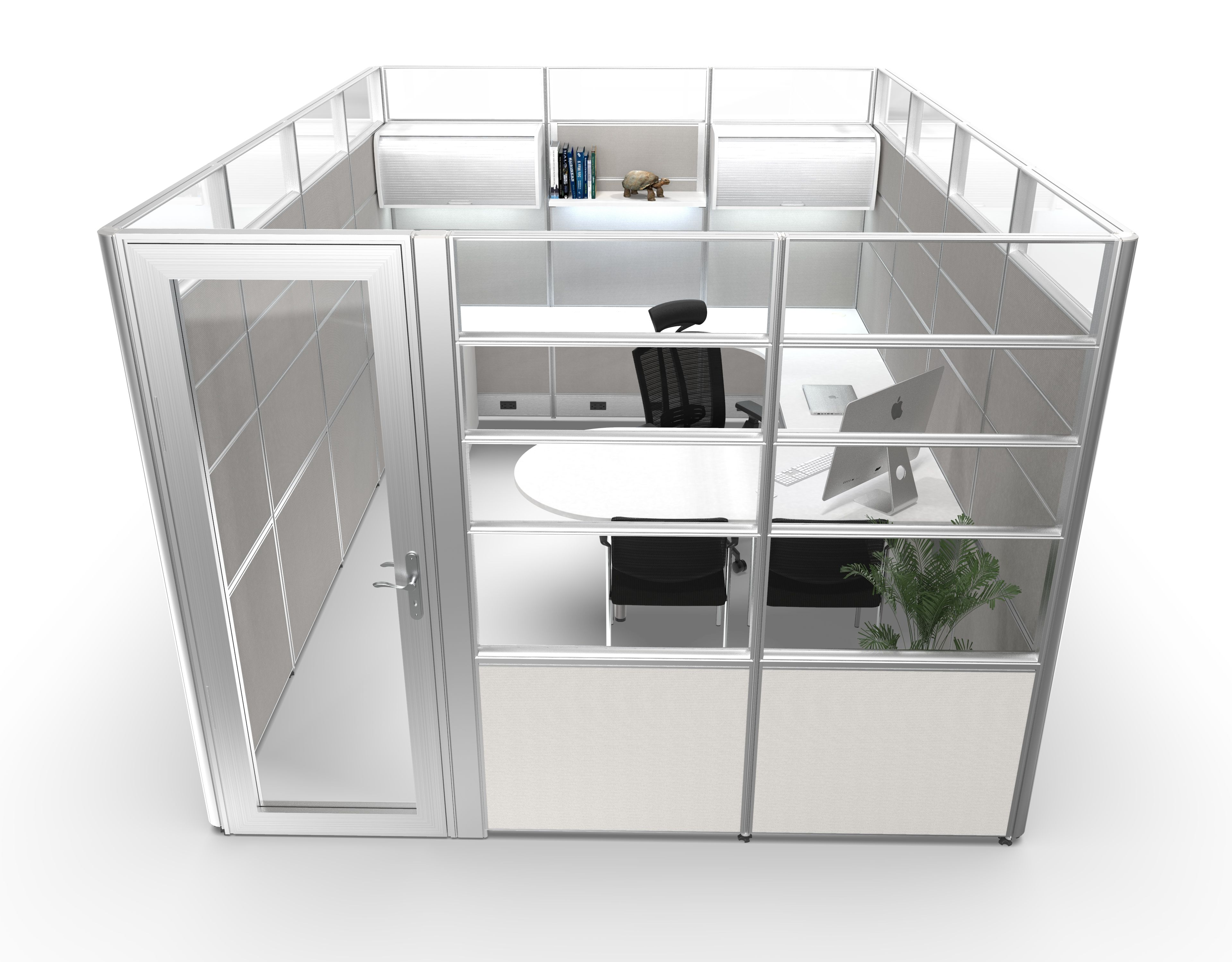 Sunline Sliding Cubicle Series High Wall Now Available At Arnold S Cubicle Design Office Cubicle Design Office Cubicle