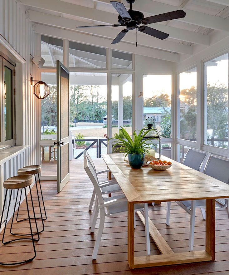 Creative Screened Porch Design ideas | Pinterest | Garderoben und ...