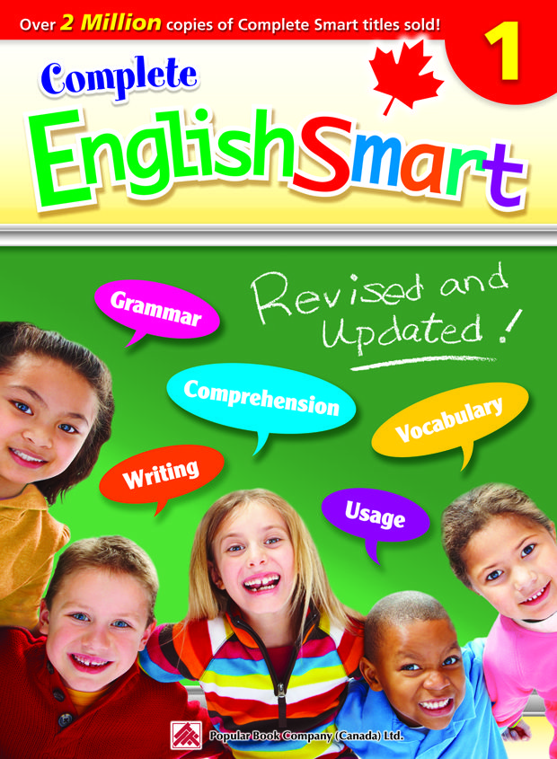 Canadian curriculum-based English workbook covering
