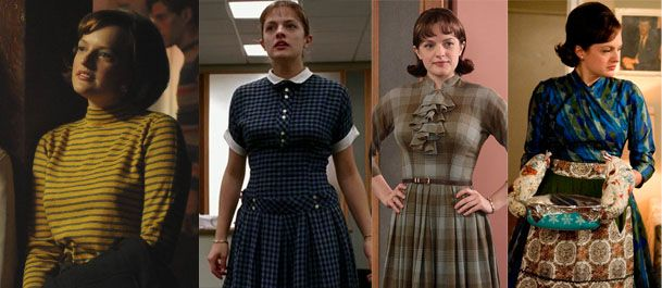 Image result for peggy's costumes, mad men