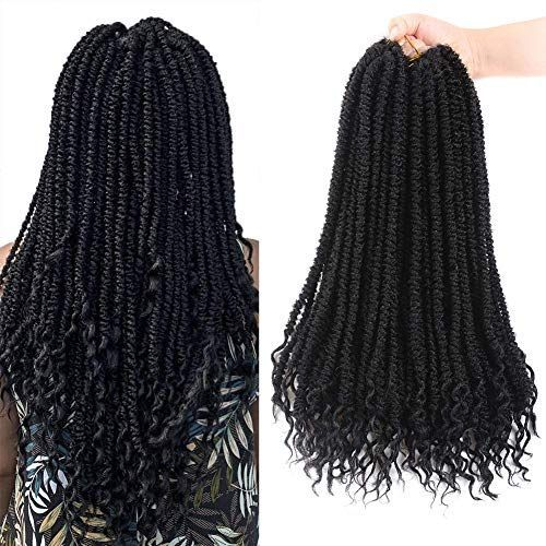 Best Seller 18? Long Spring Locs Crochet Hair Spring Senegalese Twist Crochet Braid Curly End (14 strands/Pack 6 Packs) Soft Lightweight Natural looking Kanekalon Synthetic Crochet Hair Extension(18 inch 1B) online#BeautyBlog #MakeupOfTheDay #MakeupByMe #MakeupLife #MakeupTutorial #InstaMakeup #MakeupLover #Cosmetics #BeautyBasics #MakeupJunkie #InstaBeauty #ILoveMakeup #WakeUpAndMakeup #MakeupGuru #BeautyProducts #crochetsenegalesetwist