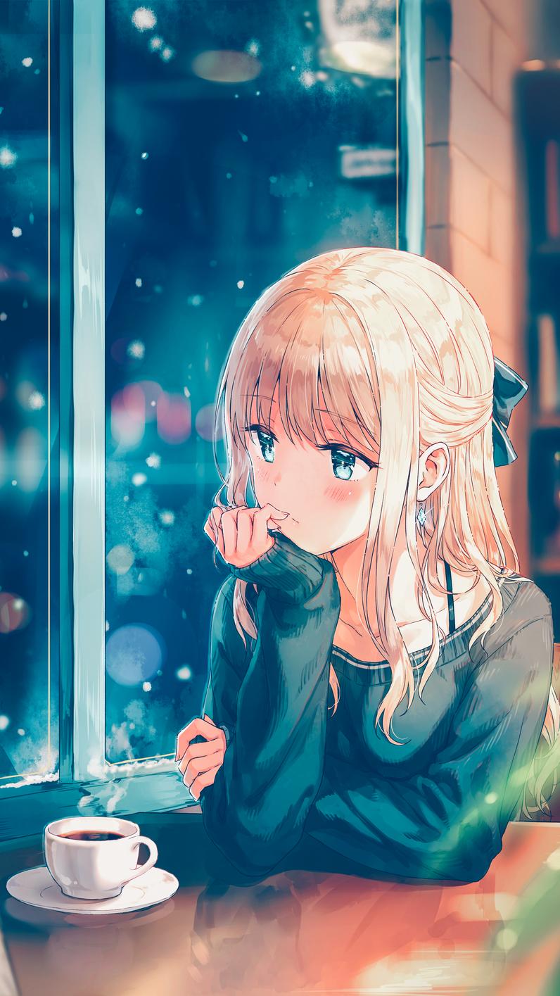 Waiting For You 1415 X 796 Original Anime Wallpaper Cool Anime Wallpapers Hd Anime Wallpapers
