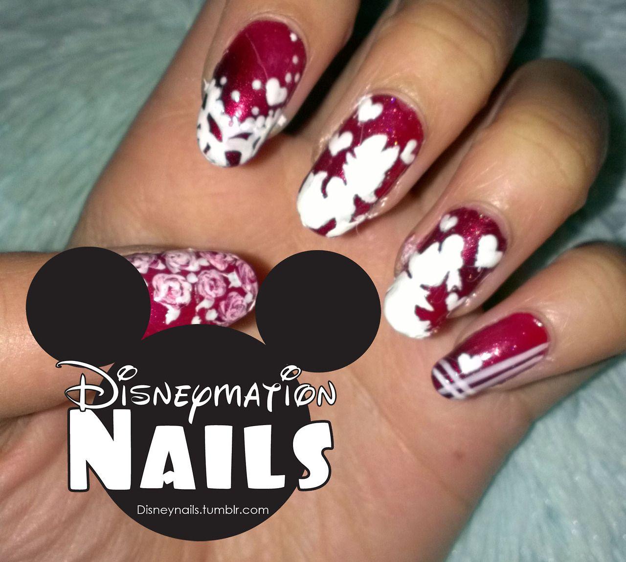 DAISY DUCK | Awesome Nails | Pinterest | Daisy duck, Disney nails ...