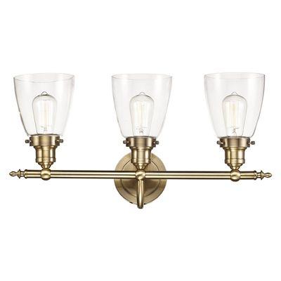 Bel Air Lighting Number Of LightsUomNaLight Soft Tone Gold - Gold bathroom vanity lights