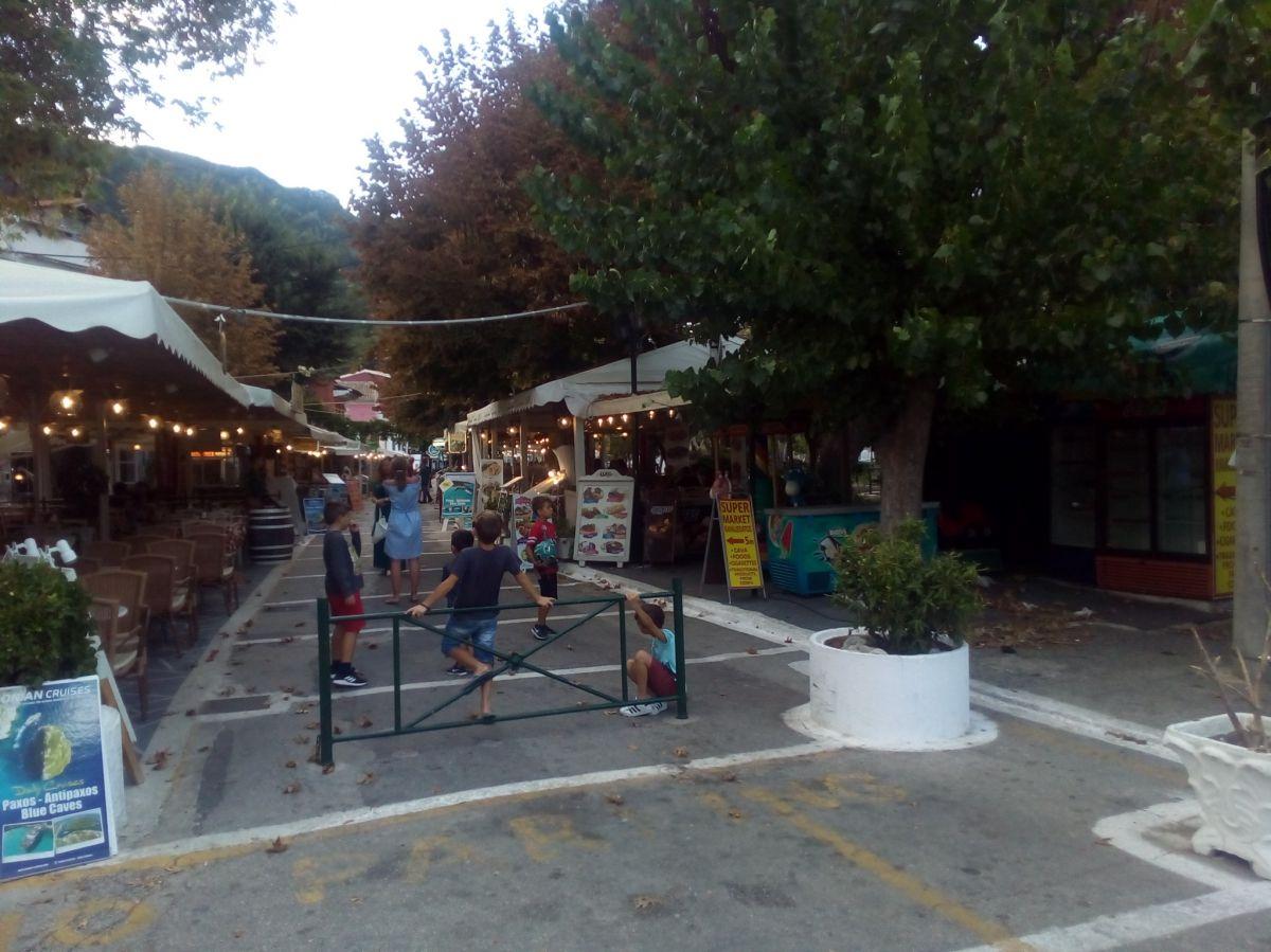 Benitses (Mpenitses) ostrov Korfu Korfu, Řecko, Ostrov