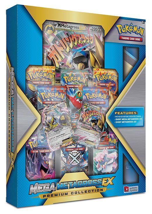 Pokemon Mega Metagross Ex Premium Collection Pokemon Cards