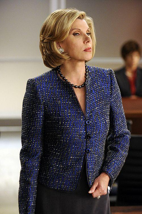 Christine Baranski As Diane Lockhart In The Good Wife Tag
