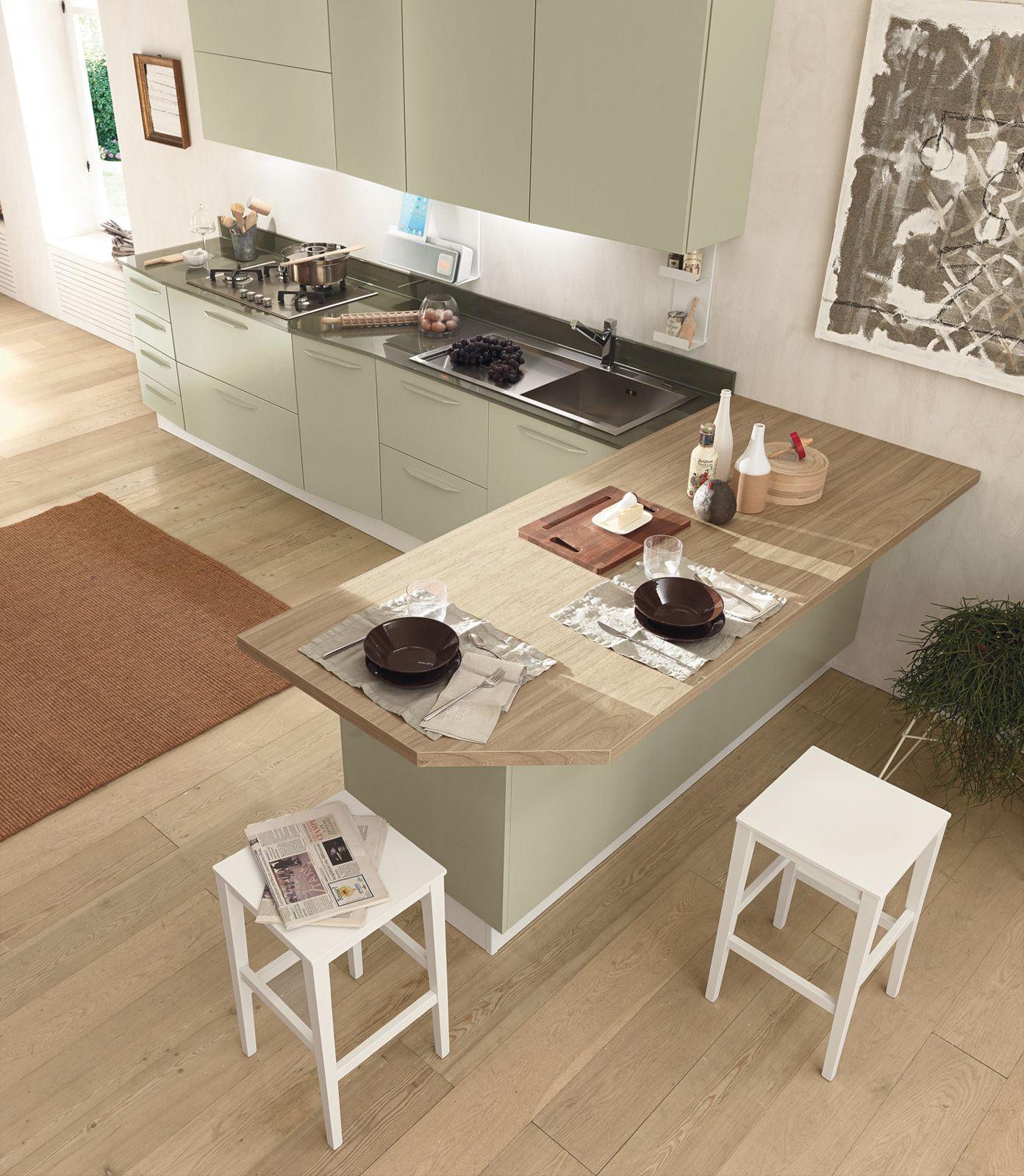 alicante nature&family di febal è una cucina ergonomica ... - Cucina Febal Light La Qualita Accessibile