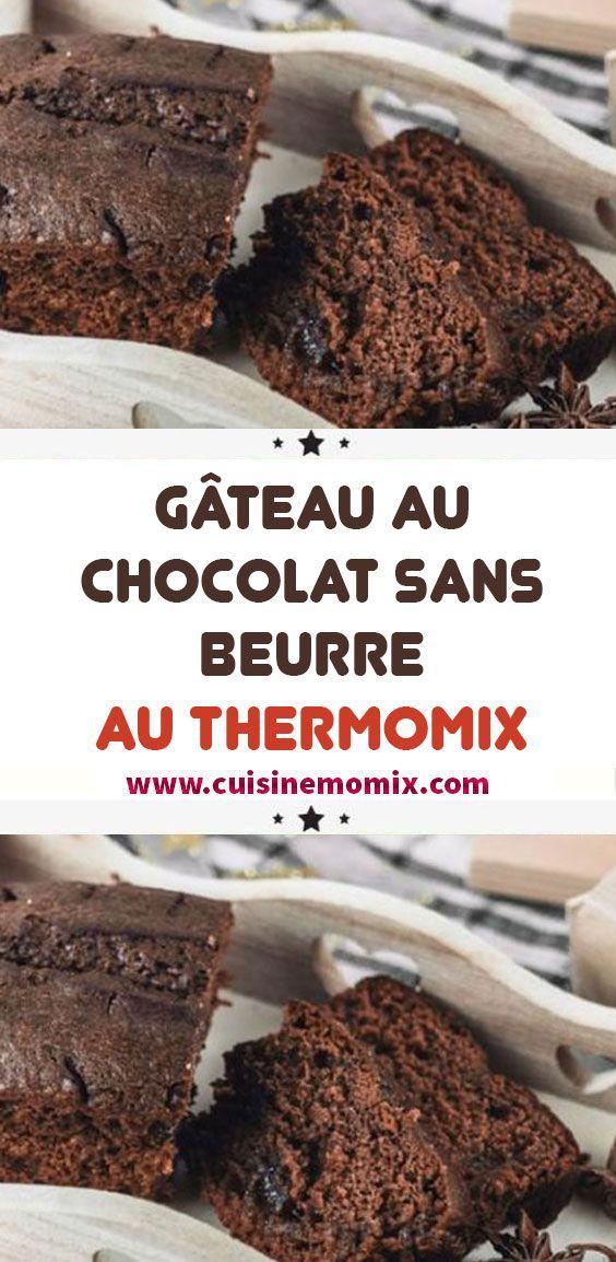 Gâteau au chocolat sans beurre au Thermomix en 2020 ...