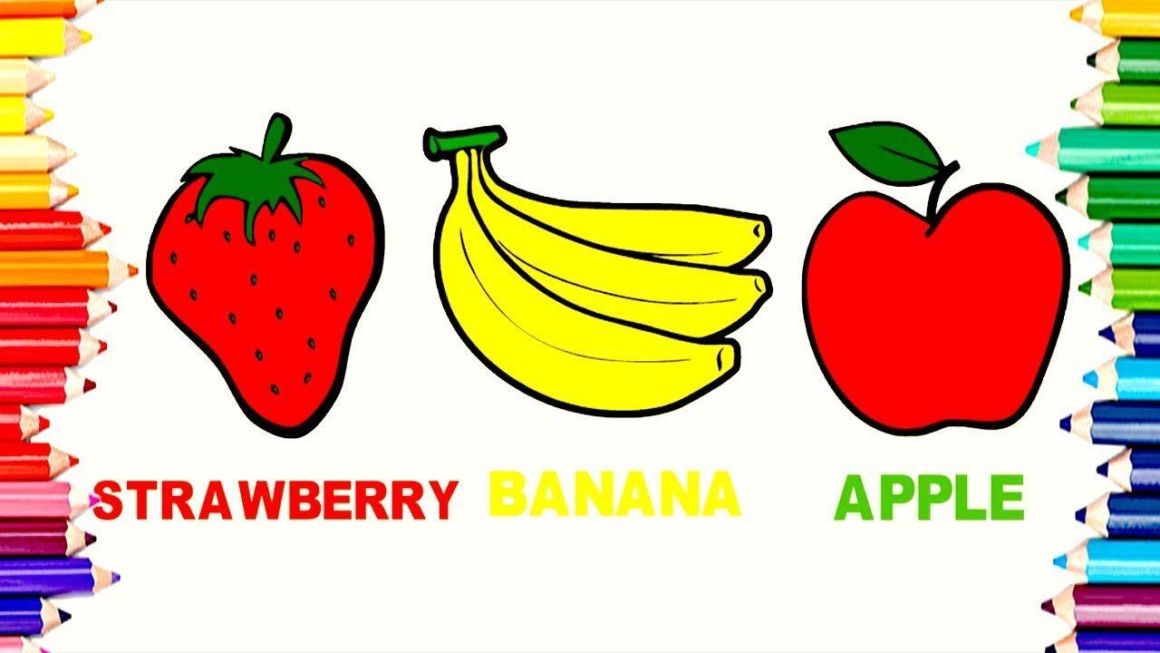 Amazing Coloring Fruits Ideas - Coloring Page - senderolasbrumas.info