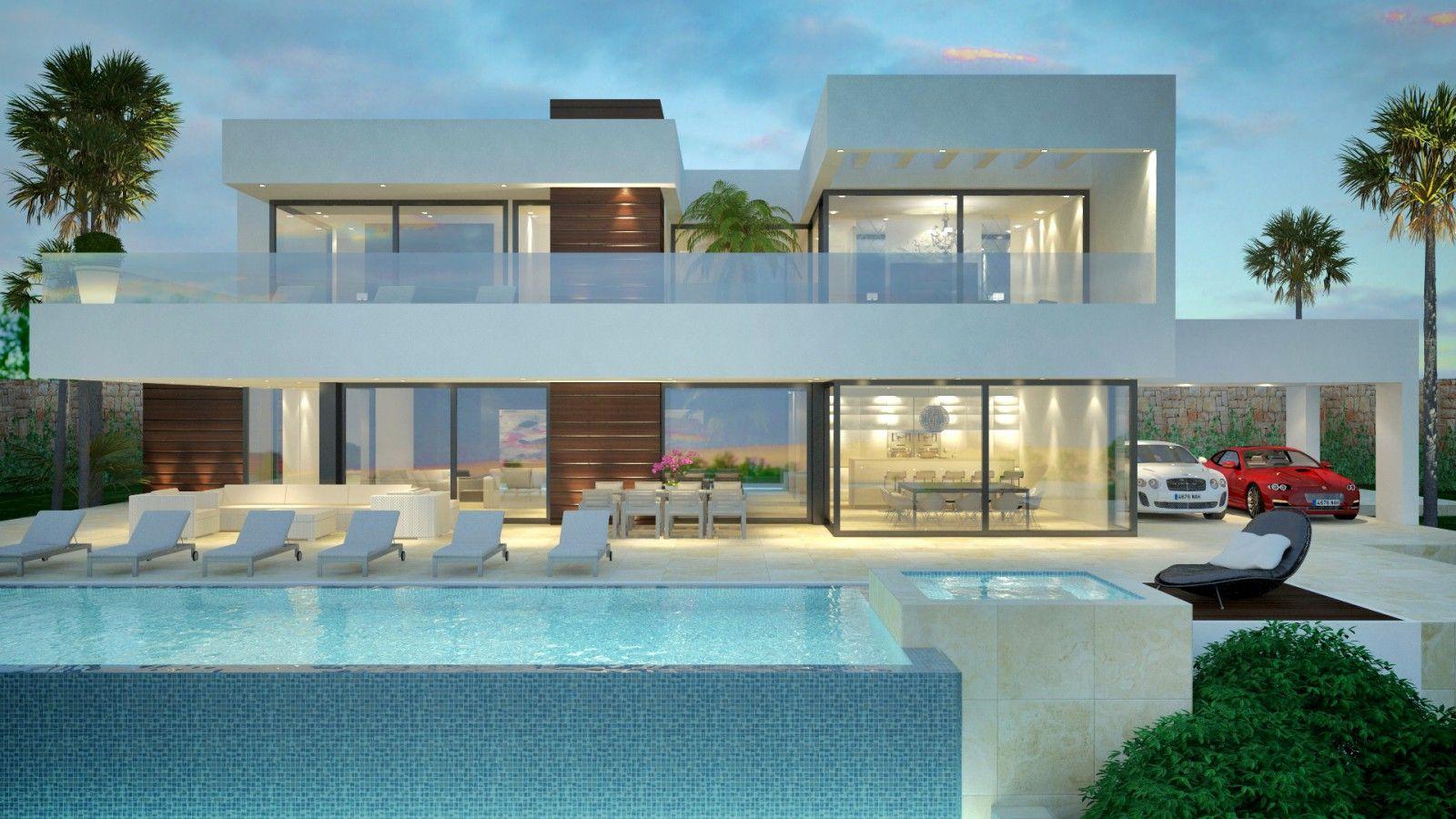 Villa moderne à vendre La Cerquilla, Marbella | Maison minimaliste ...