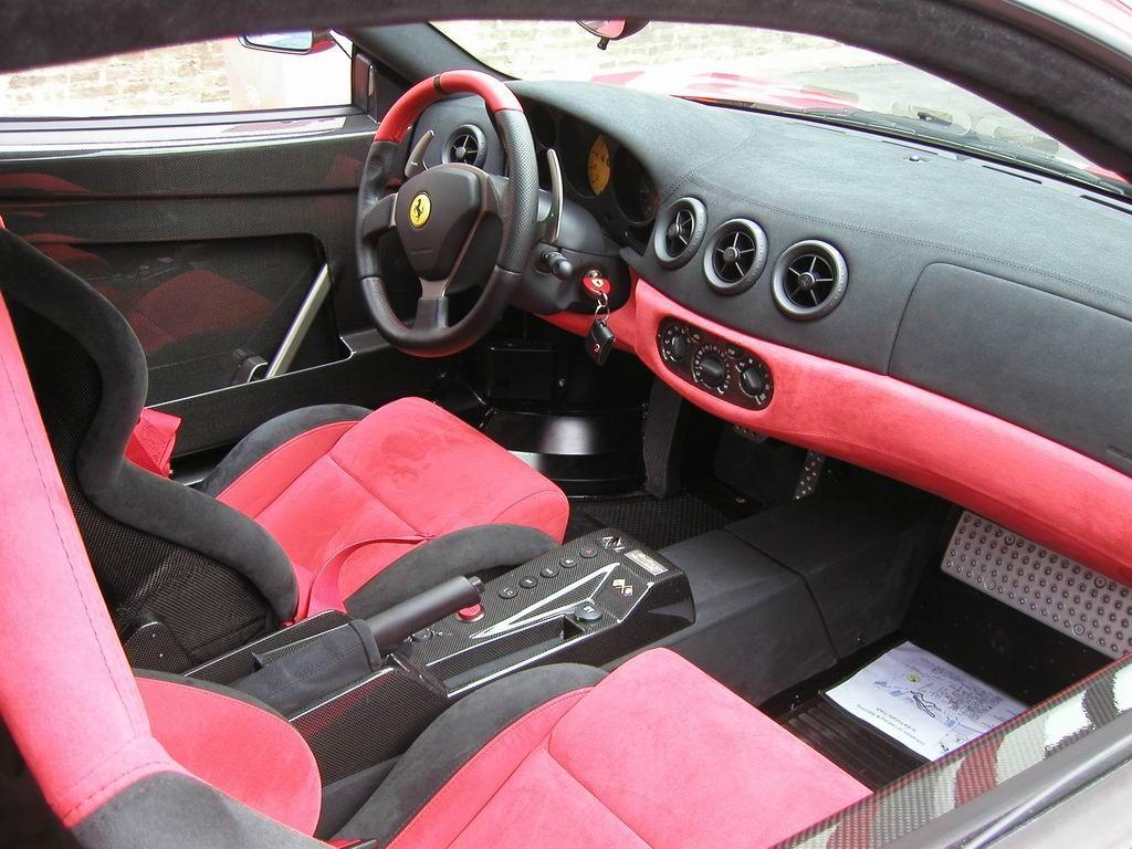 Ferrari 360 Challenge Stradale Interior Ferrari 360 Ferrari Car Interior