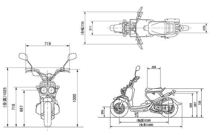 scooter blueprints
