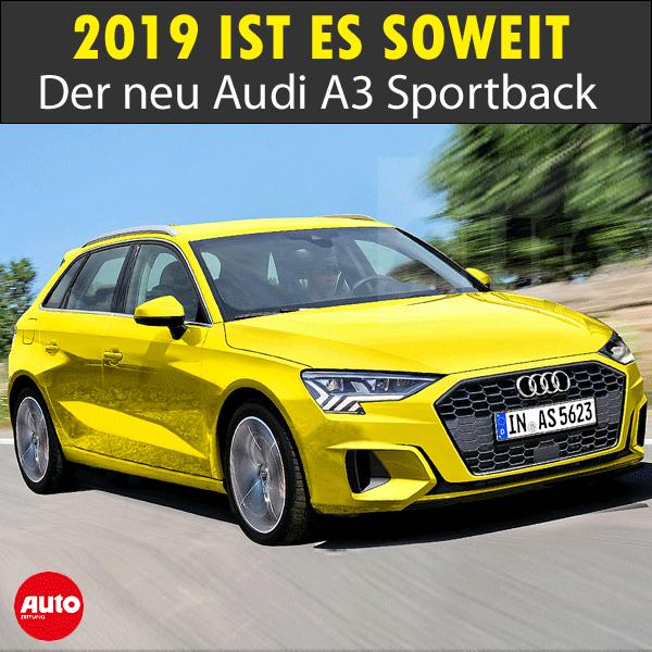 Audi A3 (2019) Technische Details Audi a3, Audi a3