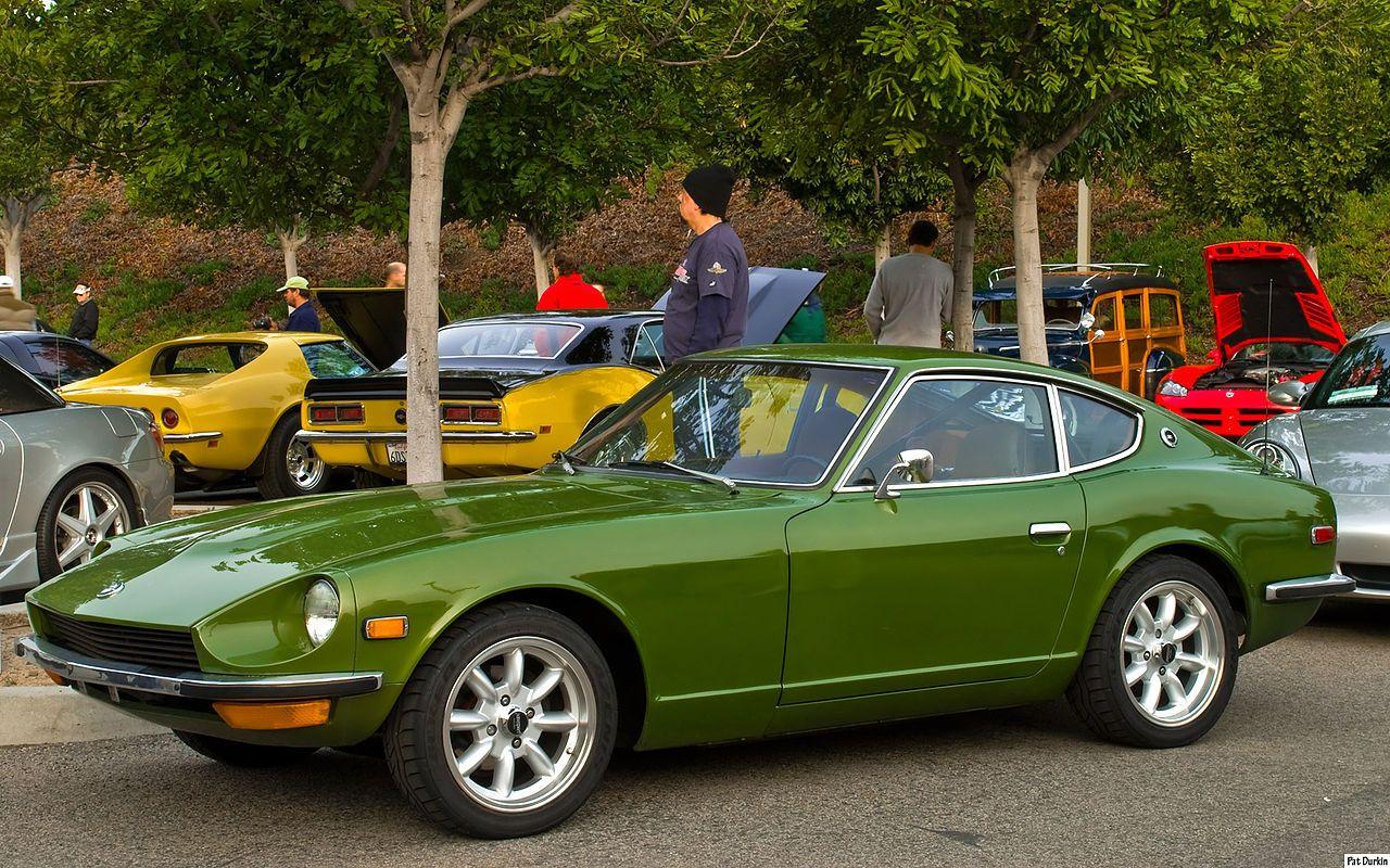 1971 Datsun 240-Z coupe - green - fvl - Nissan S30 - Wikipedia ...