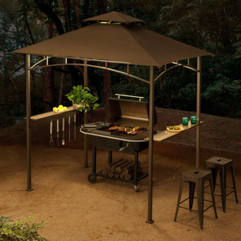 Cool And Contemporary 10 X10 Gazebo Vented Canopy Replacement Made Easy Bbq Gazebo Grill Gazebo Grill Canopy