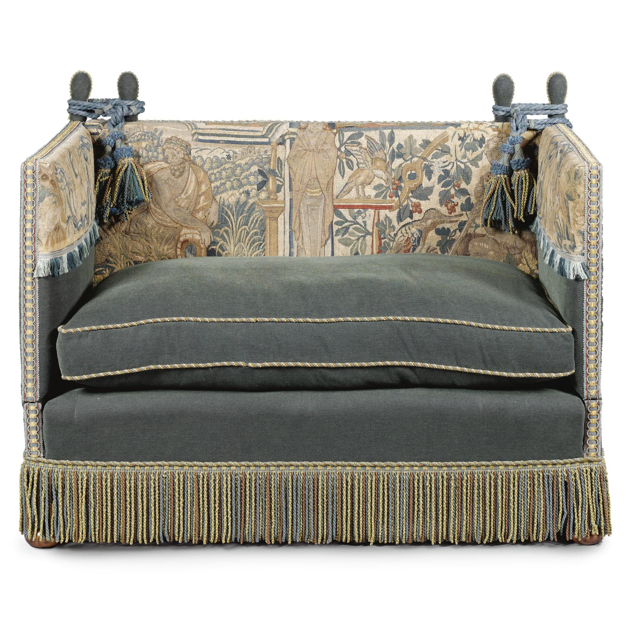 DXV knole sofa rope and tassels Furniture