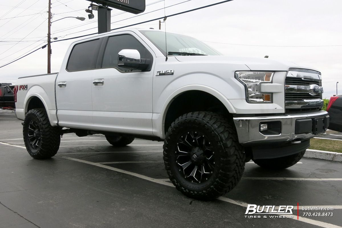Ford F 150 With 20in Fuel Assault Wheels Ford Trucks F150 Ford F150 Ford F150 Fx4