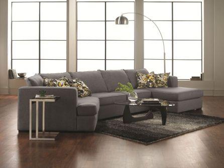 Merveilleux Modern : 901509 : Norman 3PC Sectional : Decorium Furniture Store Toronto