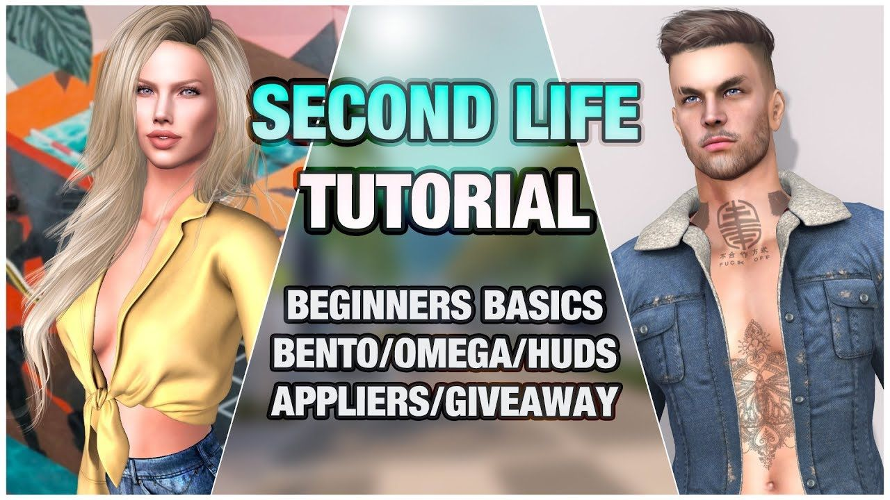 In this video Yorkie guides a Second Life tutorial for those new to