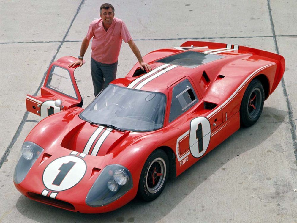 Ford S Quest To Beat Ferrari With The Gt40 Carroll Shelby