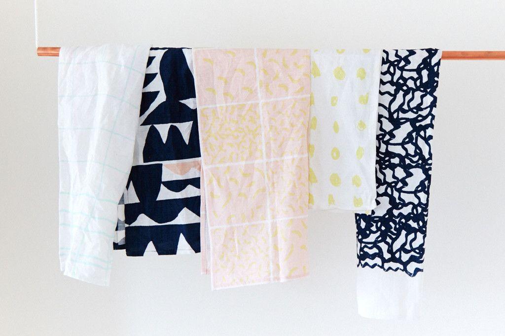 Printed Tea Towels (Colors)