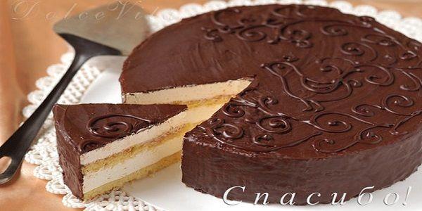 """Торт """"Птичье молоко"""" Старый рецепт - настоящее совершенство вкуса! Хочу вам сказать это волшебство! Даже облако тяжелее этого торта! Просто чудо!"""