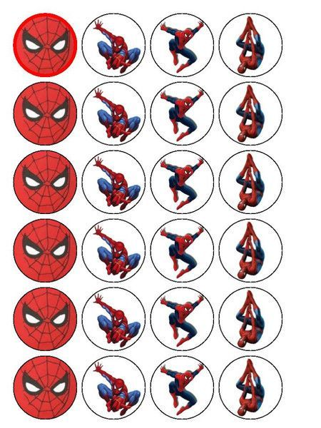 free printable cupcake wrappers and toppers with spiderman - Recherche Google - Visit to grab an amazing super hero shirt now on sale!