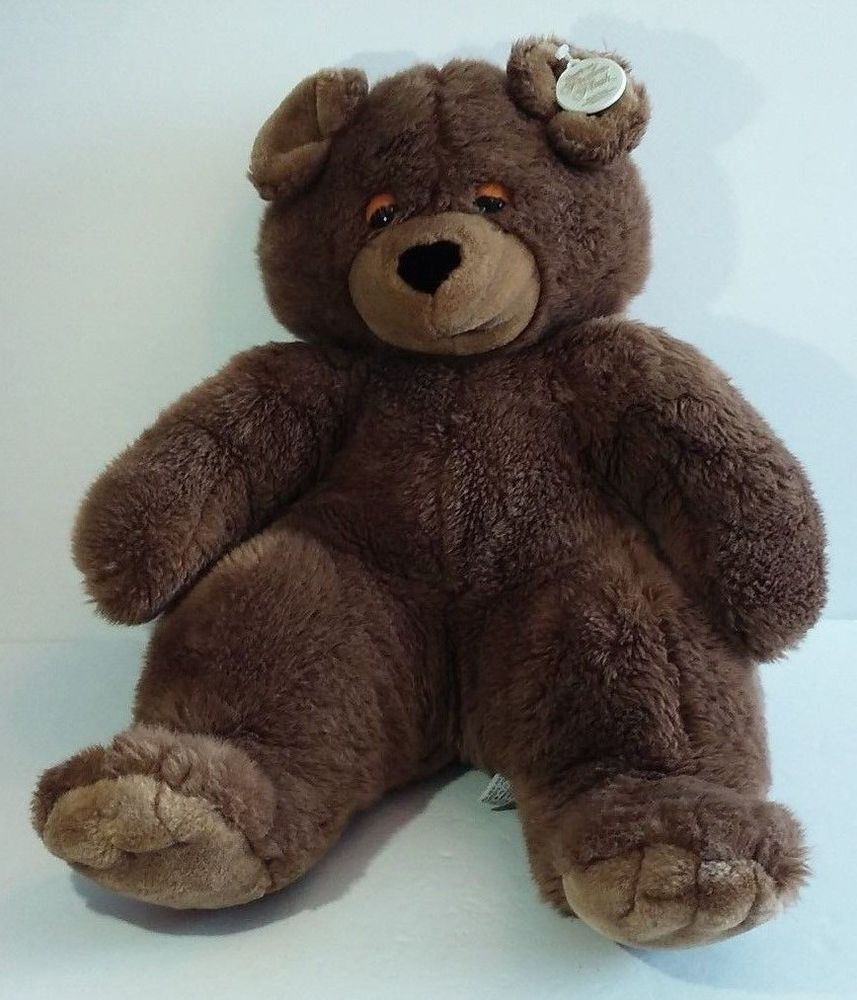606db2f18da Gerber Precious Plush Brown Bear Vintage Big Large Jumbo 16