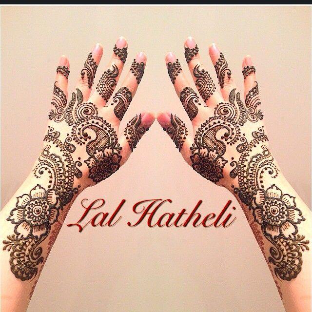 Arabic mehndi by Lal Hatheli