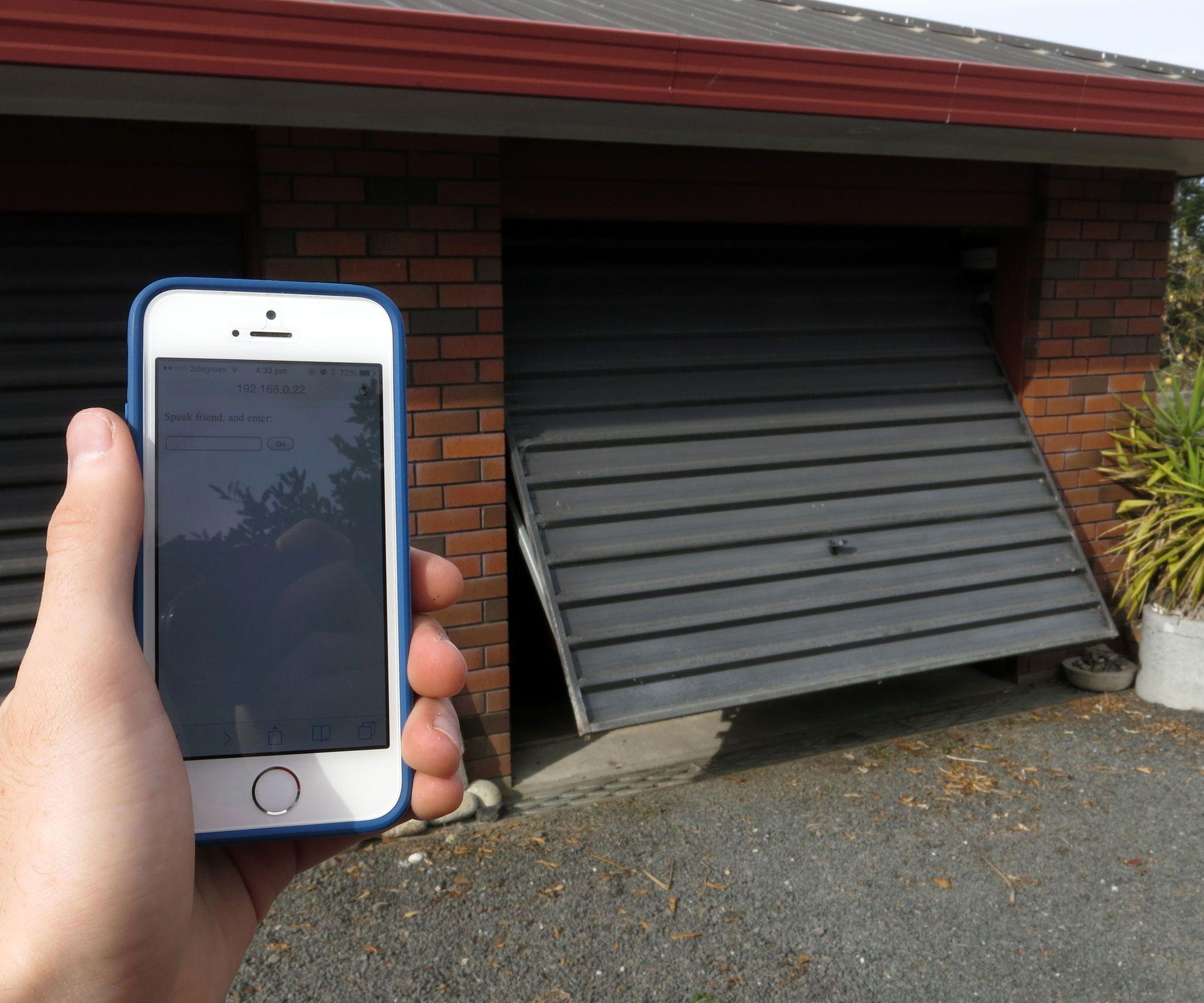 Arduino WiFi Garage Door Opener (With images) Smart