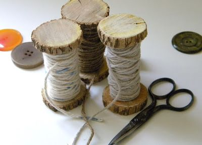 homework: creative inspiration for home and life: Etceteras: branch spools