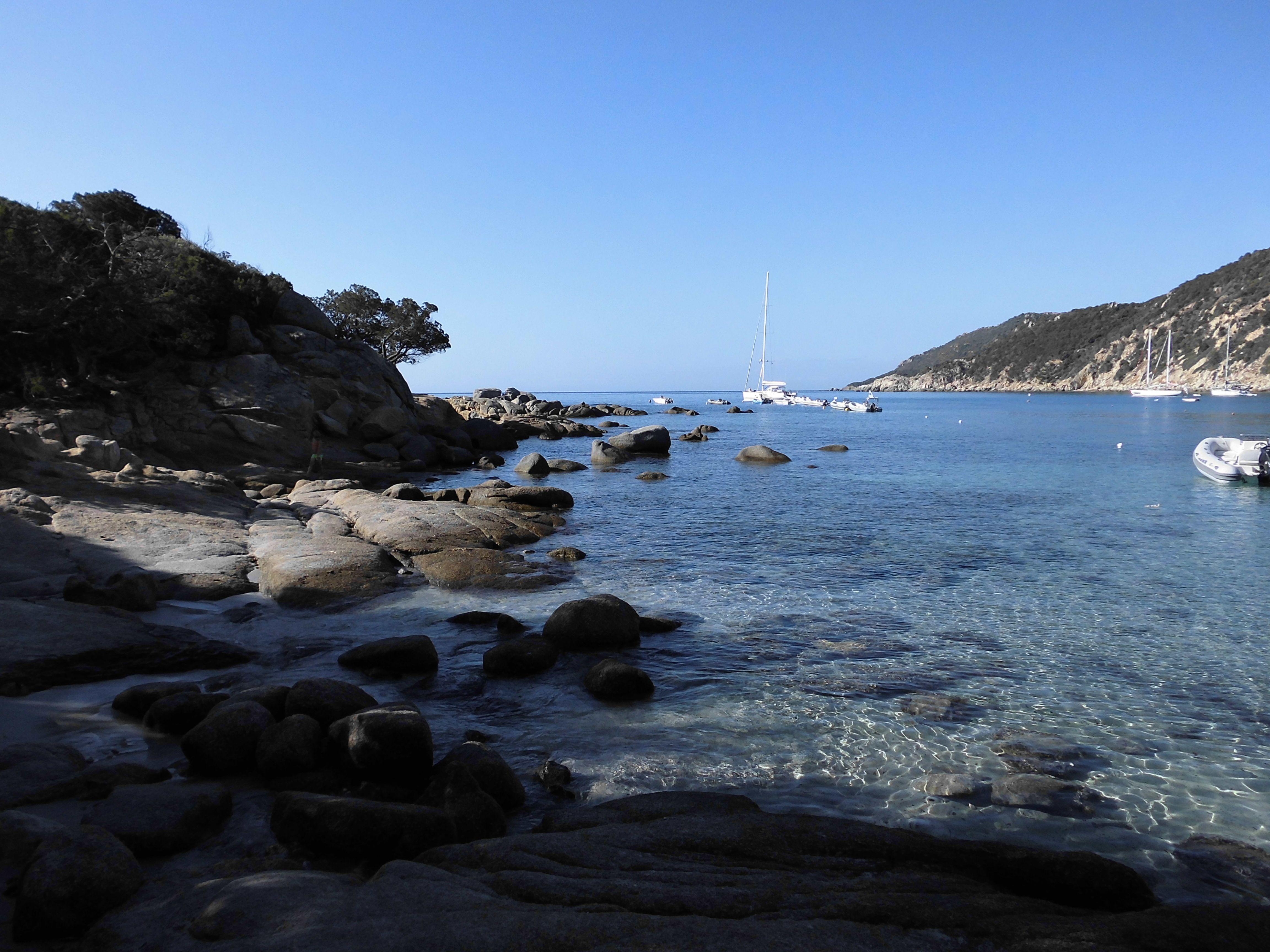 Un giorno in questa spiaggia della Sardegna